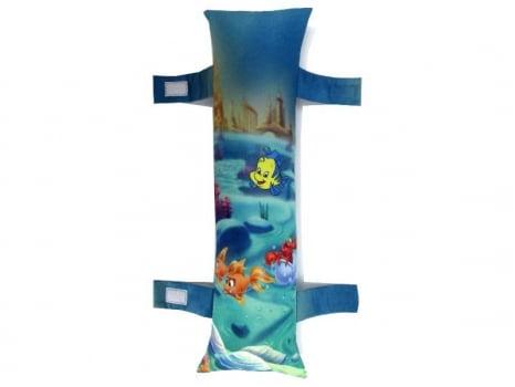 Almofada protetor para Cinto de Segurança para caros com estampa Personalizada Infantil - Ariel a Pequena Sereia 2