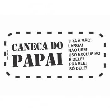 Caneca de Porcelana Personalizada do Papai