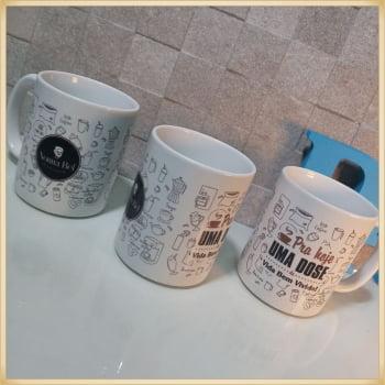 Canecas personalizadas - Brinde personalizado - Caneca personalizada de porcelana